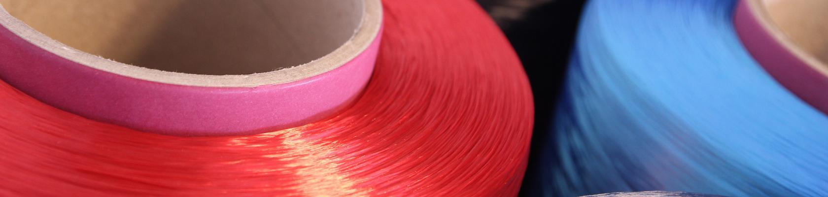 rpet colored industrial yarns