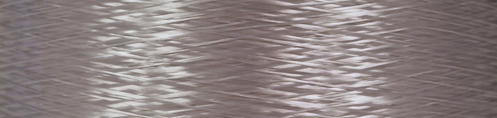 Clear rPET industrial yarn