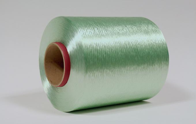 Green rPET industrial yarns