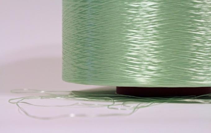 Green rPET industrial yarns