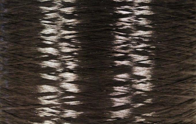 Schwarzes rPET Industrielles Garn MOPET-r Garn 4535T
