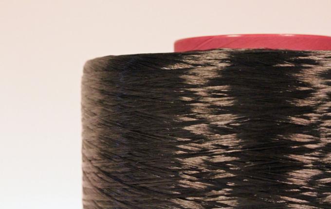 Black rPET industrial yarn